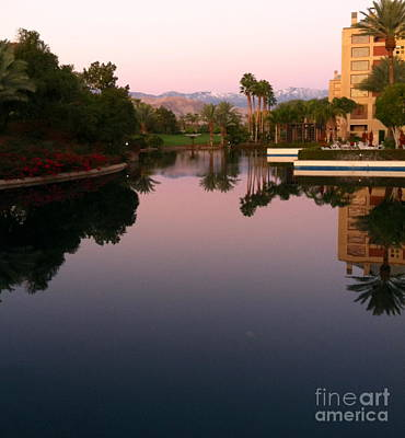 Photograph - Sunrise Symmetry by Johanne Peale