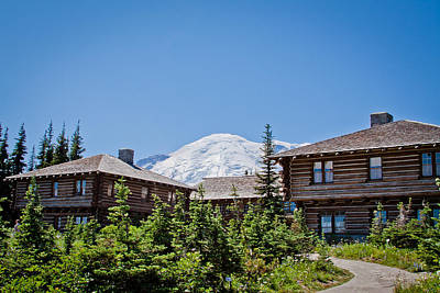 Photograph - Sunrise Visitors Center - Mount Rainier National Park by David Patterson