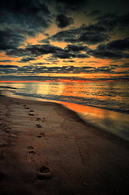 Photograph - Sunrise Walk  by Emily Stauring