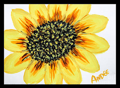 Painting - Suns Flower by Andee Design