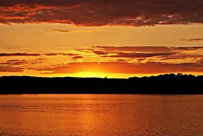 Photograph - Sunset 081812 by Joe Faherty