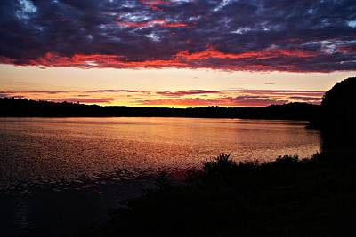 Photograph - Sunset 081812a by Joe Faherty
