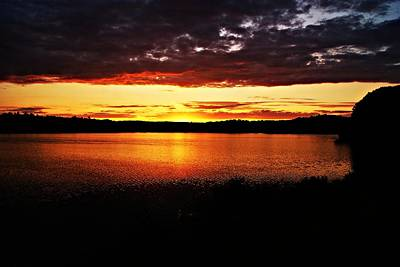 Photograph - Sunset 081812b by Joe Faherty