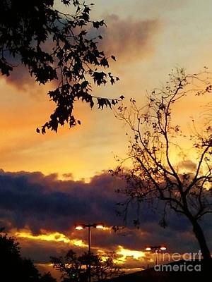 Art Print featuring the photograph Sunset 2 by Jasna Gopic