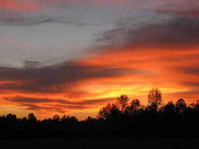 Wall Art - Photograph - Sunset 4 by Evelyn Haye