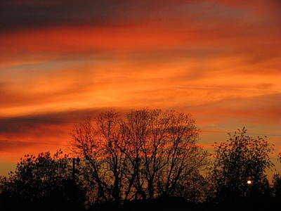 Wall Art - Photograph - Sunset 5 by Evelyn Haye