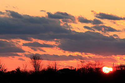 Photograph - Sunset After The Storm by Ann Murphy