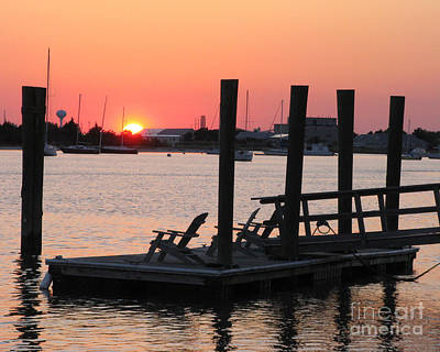 Photograph - Sunset At Beaufort by Patricia Januszkiewicz