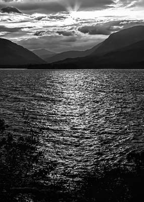Photograph - Sunset At Loch Linnhe Near Fort William In Scotland by Zoe Ferrie