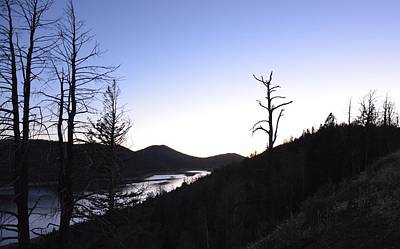 Photograph - Sunset At Navajo Lake by Mark Bowmer