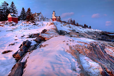 Photograph - Sunset At Pemaquid  by Susan Cole Kelly
