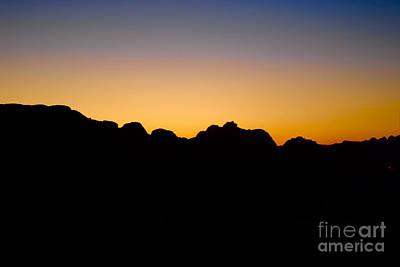 Photograph - Sunset At Petra Jordan by Eva Kaufman