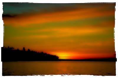 Water Photograph - Sunset At Redondo by David Patterson