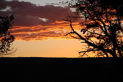 Sunset At Ridgway State Park Art Print by Marta Alfred