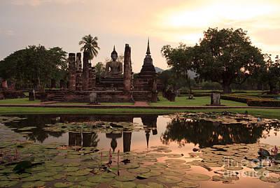 Sunset At Sukhothai  Original