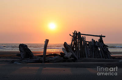Photograph - Sunset At The Beach by Sarah Schroder