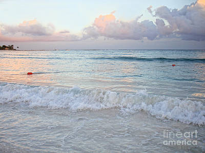 Photograph - Sunset At The Beach Yucatan Peninsula Mexico by Renata Ratajczyk
