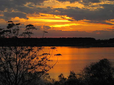 Photograph - Sunset At Tower Lake by RobLew Photography