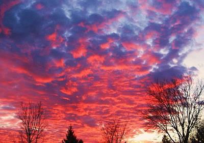 Sunset Art Print by Barron Peterson