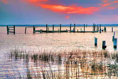 Sunset Bay Iv Art Print by Steven Ainsworth