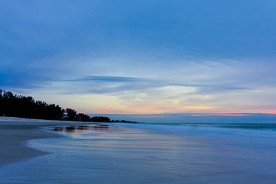 Sunset Photograph - Sunset Blue by Nicholas Evans