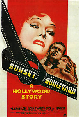 Sunset Boulevard Print by Georgia Fowler