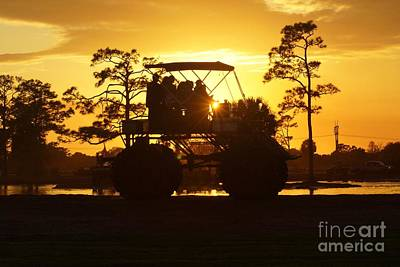 Photograph - Sunset Buggy by Lynda Dawson-Youngclaus