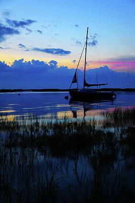 Cape Cod Sunset Photograph - Sunset Calm by Rick Berk