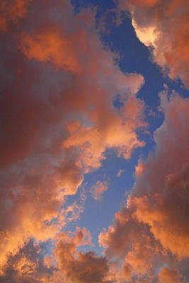 Sunset Cloudscape 1035 Art Print by James BO  Insogna