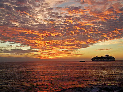 Photograph - Sunset Cruise by Kurt Van Wagner