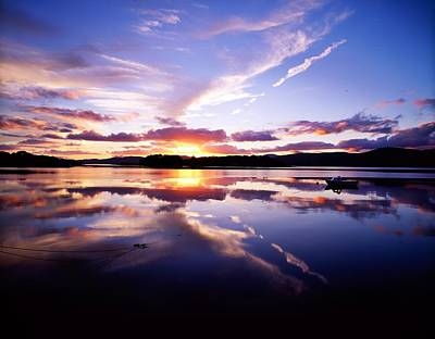Sunset, Dinish Island Kenmare Bay Art Print