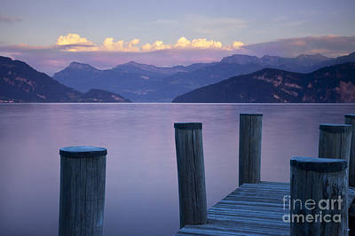 Photograph - Sunset Dock by Brian Jannsen