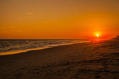Photograph - Sunset Emerald Isle by Dan Vidal