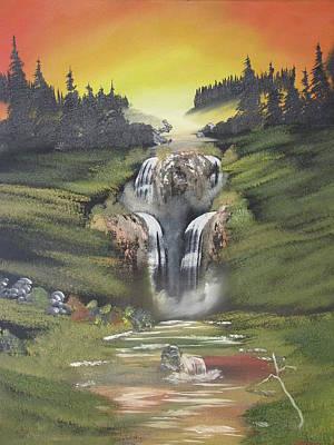 Sunset Falls Original