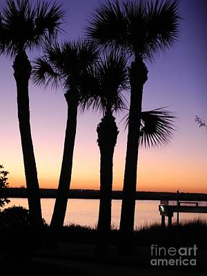 Photograph - Sunset Frederica River Ga by Pauline Margarone