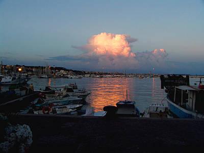 Sunset From Anzio Art Print