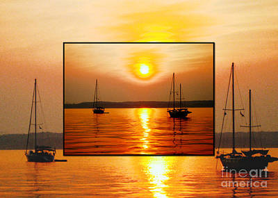 Still Life Photograph - Sunset In A Sunset by Judee Stalmack