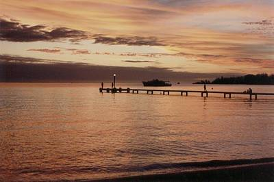 Photograph - Sunset In New Caledonia by Mary-Lee Sanders