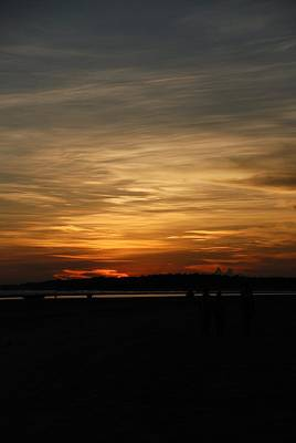 Art Print featuring the photograph Sunset In Pastels by Fotosas Photography