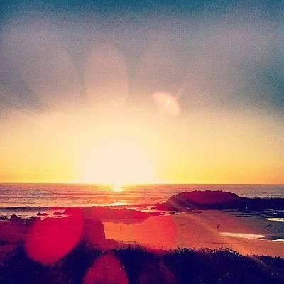 Sunset Wall Art - Photograph - #sunset In Pescadero by Ariane Moshayedi