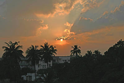 Photograph - Sunset In Pune by Emery Graham