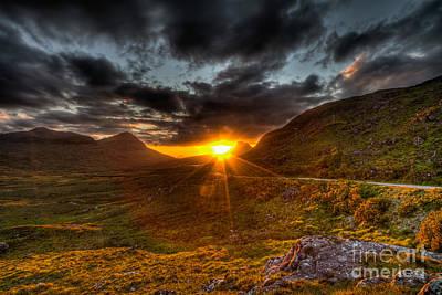 Sunset In The Highlands Original