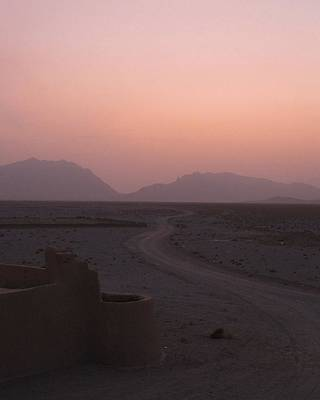 Photograph - Sunset In The Persian Desert by Tia Anderson-Esguerra