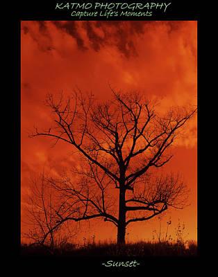 Photograph - Sunset by Katlego Mokubyane