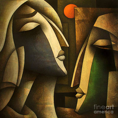 Love Painting - Sunset Love by Vishal Lakhani