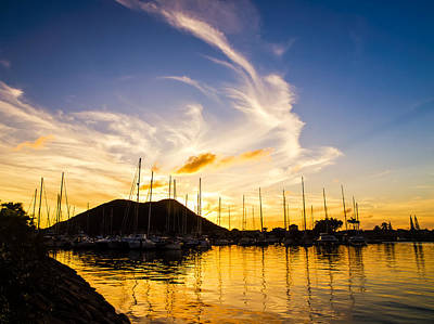 Photograph - Sunset Marina by Daniel Marcion