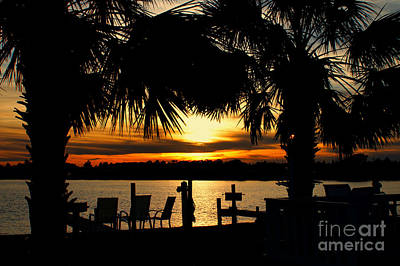 Sunset Memories Art Print by Benanne Stiens