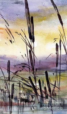 Painting - Sunset by Natalia Eremeyeva Duarte