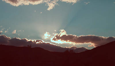 Death Valley Photograph - Sunset by Naxart Studio