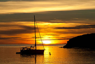 Photograph - Sunset On Bowman Bay by Cheryl Perin